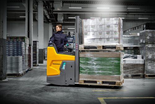 New Jungheinrich ERD 220i redefines triad of compactness, safety and ergonomics