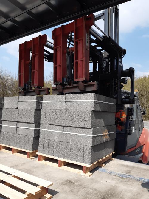 Bespoke Handling Solution for Building Materials Manufacturer