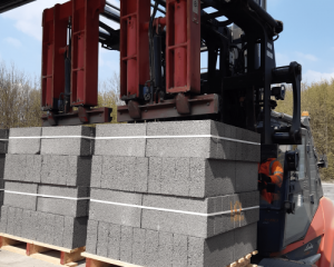 Bespoke Handling Solution by B&B Attachments for Building Materials Manufacturer