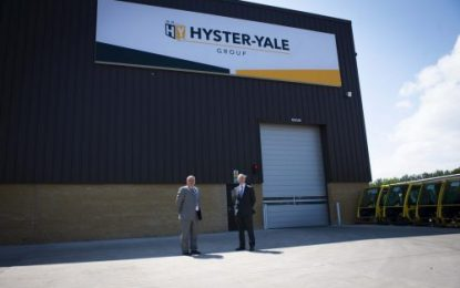 Hyster-Yale Group celebrates 40 years of manufacturing lift trucks in Northern Ireland