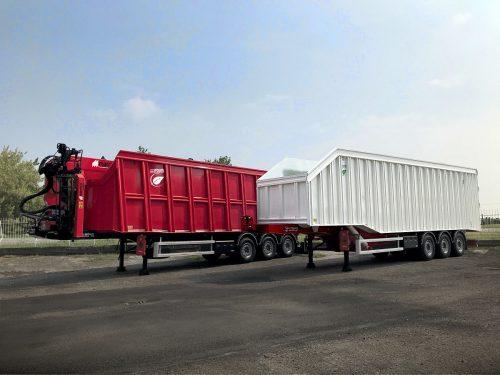 GERVASI Ecologica – design and manufactures semi-trailers for scrap metals