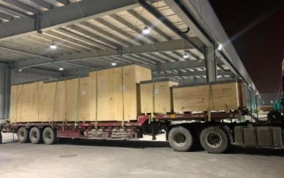 Dimerco delivers customized solution for oversized shipping project