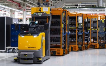 Jungheinrich is automating production supply for Audi Hungaria