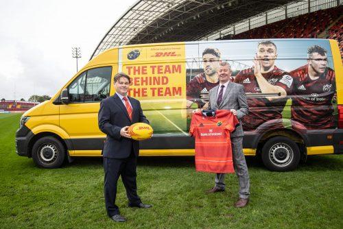 DHL Express Ireland – Official Logistics Partner of Munster Rugby