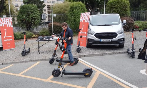 Spin Demonstrates e-Scooter Safety Technologies Ahead of Usage Legalisation in Ireland