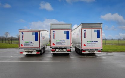 Schmitz Cargobull EcoGeneration curtainsider – Finalist in German Sustainability Prize Design 2022